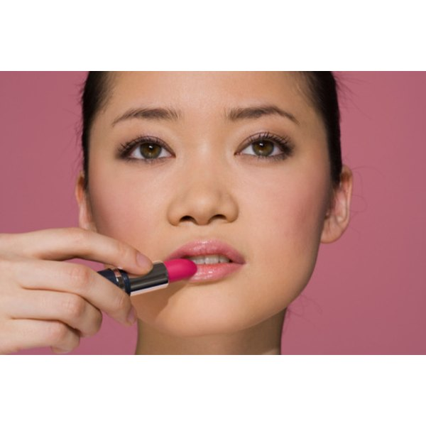 Putting lipstick on your lips can prevent chapping and blistering.