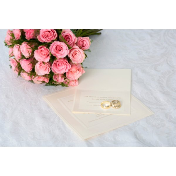 The font you select for a formal invitation speaks of your personal style -- and the style of the event itself.