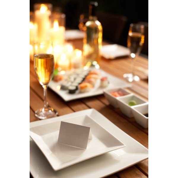 Proper Etiquette For Names On Place Cards Our Everyday Life