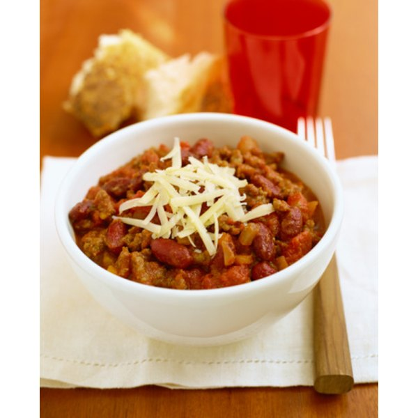 Some nutrients in chili can help fight acne.