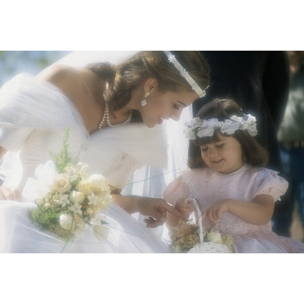 Wedding Flower Meaning: The Meaning Of A Flower Girl In A Wedding Ceremony In The