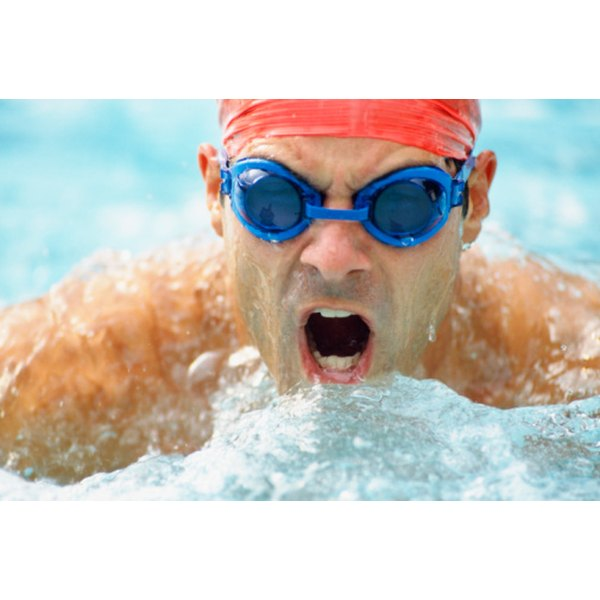Breathing properly in swimming takes practice and patience.