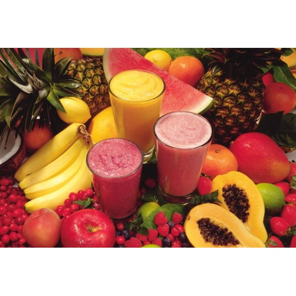 There are lots of fruit combinations you can make for a smoothie.