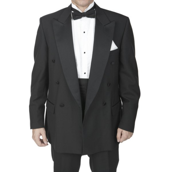 You can purchase an old tuxedo for Lurch's costume, or you can modify an existing suit.
