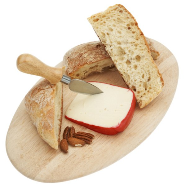 Gouda cheese goes well with crusty breads.