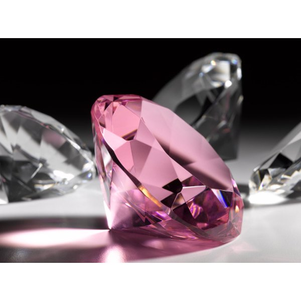 Pink diamonds are the rarest and most expensive kind.