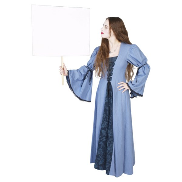 16th century brides often wore blue to symbolize purity.
