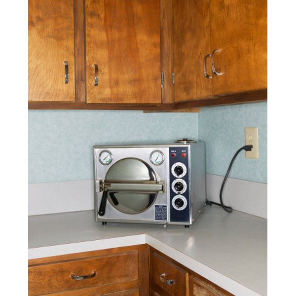 Quite a few autoclave models are countertop models; larger ones are typically found in laboratory settings.