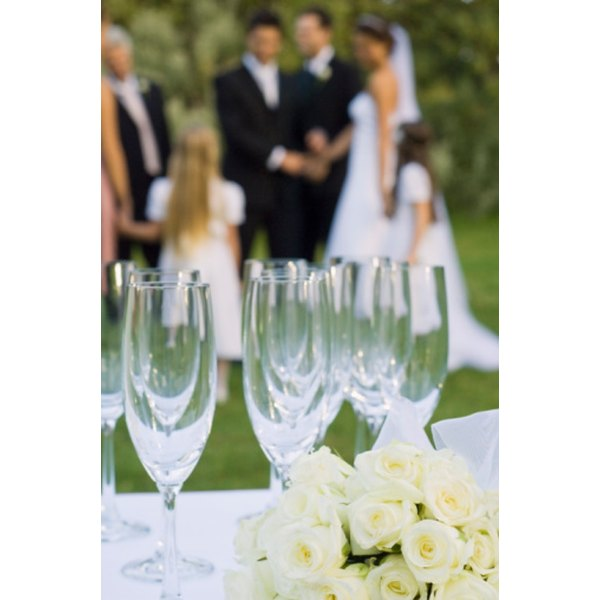 Increased weekend rates make it practical to consider a weekday for the reception.