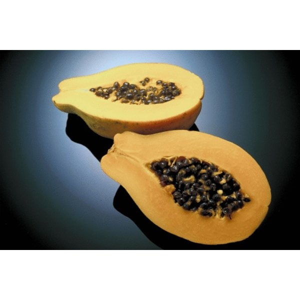 One papaya contains 707 mg of potassium.