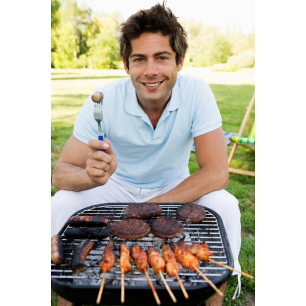 Grilling chicken is one of the fastest ways to thoroughly cook the meat.