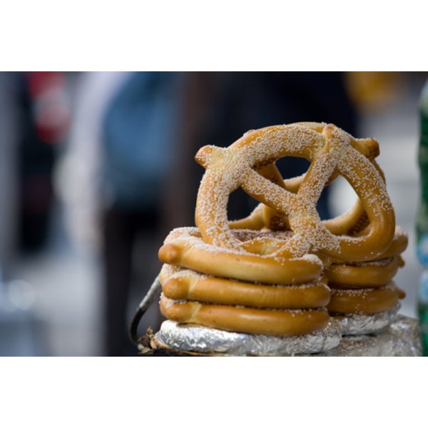 Pretzels are a German bread enjoyed all over the world.