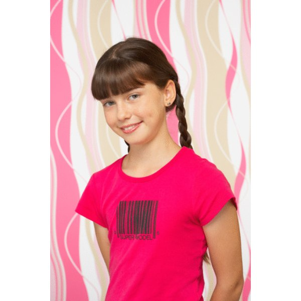 Iron-on transfer paper can be used to create a custom-printed T-shirt.
