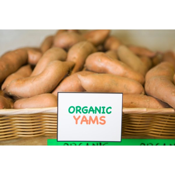 Yams are a nutrient rich carb.