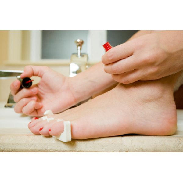 Clean, healthy toenails give you the confidence to go barefoot.