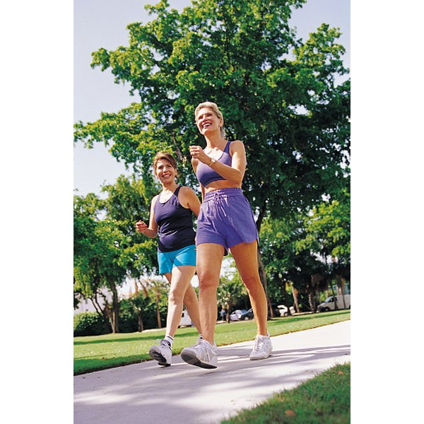 Combine regular walking with cardio and strength training for quick weight loss.