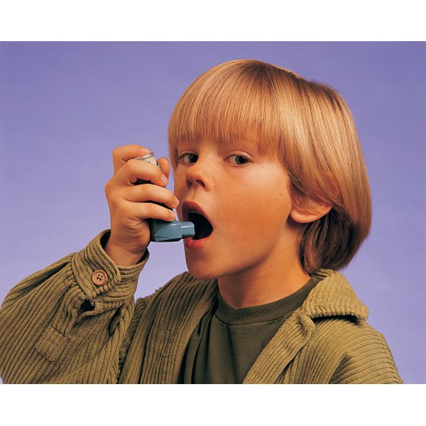 A bronchodilator can reduce the constriction of airways caused by asthma.