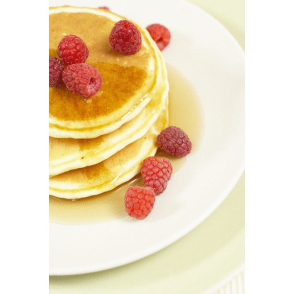 Cooking fluffy pancakes takes practice and a bit of recipe tweaking to get them just right
