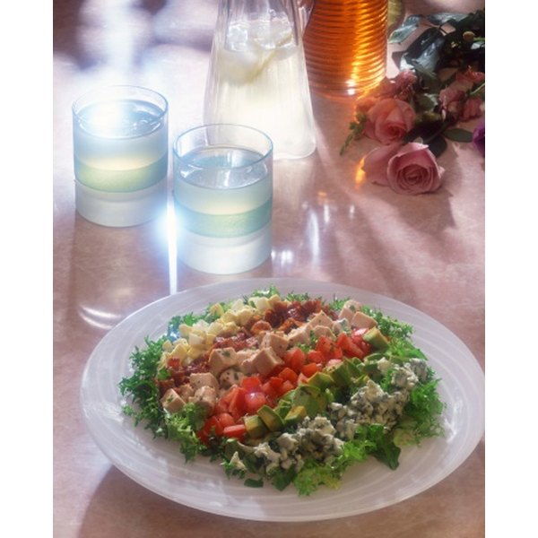 Try adding homemade dressing to your Cobb Salad.