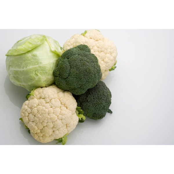 Cauliflower is a close relative of broccoli, both cruciferous vegetables.