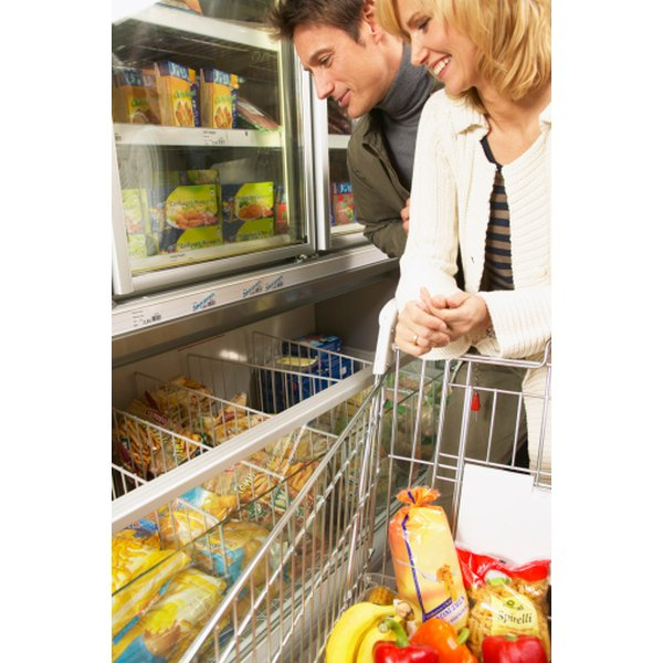 Frozen food is convenient and often less expensive than fresh, but it is best used before the end of its shelf life.