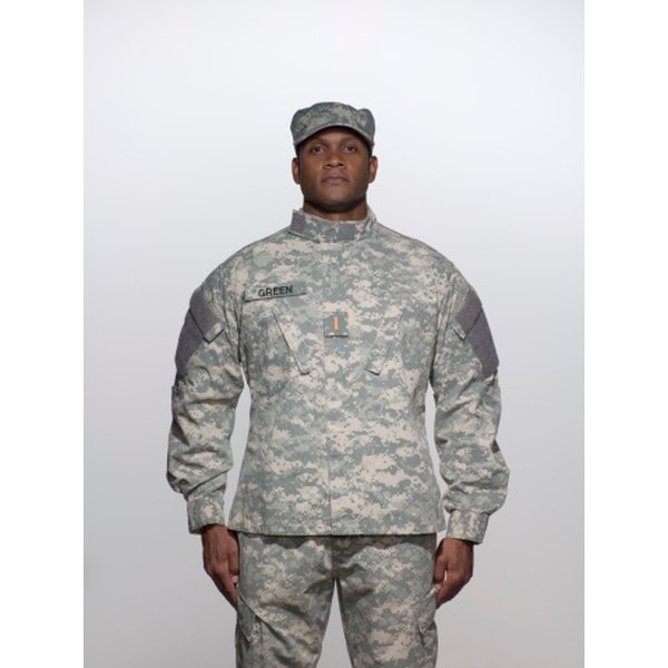 The Army Combat Uniform, or ACU, replaced the Battle Dress Uniform.
