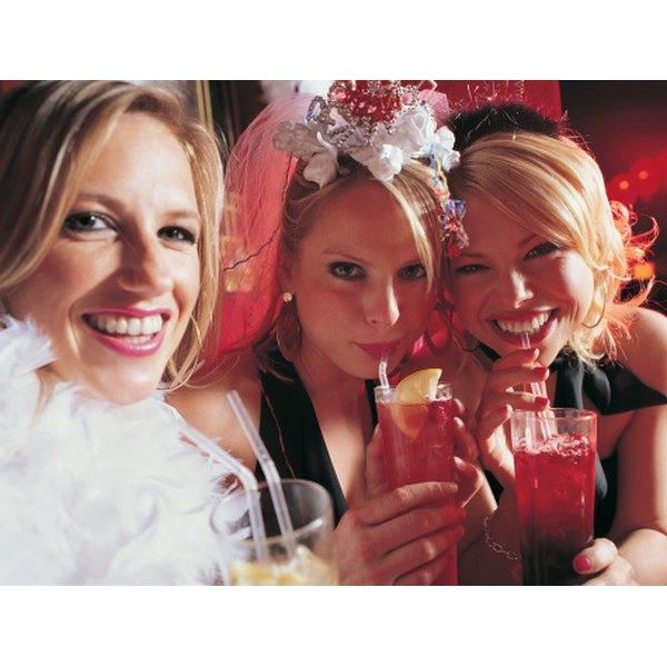 Consider a bridal scavenger hunt for a bachelorette party.
