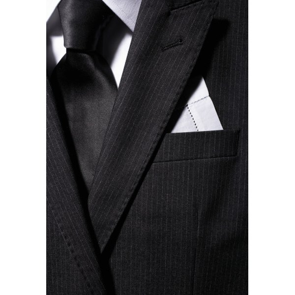 Pinstripe suits have a long history in British and American fashion.