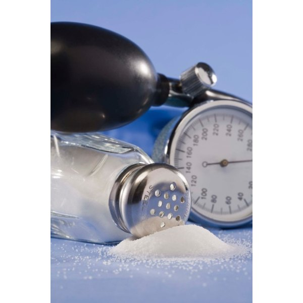 Obesity can increase salt sensitivity, which may raise blood pressure.
