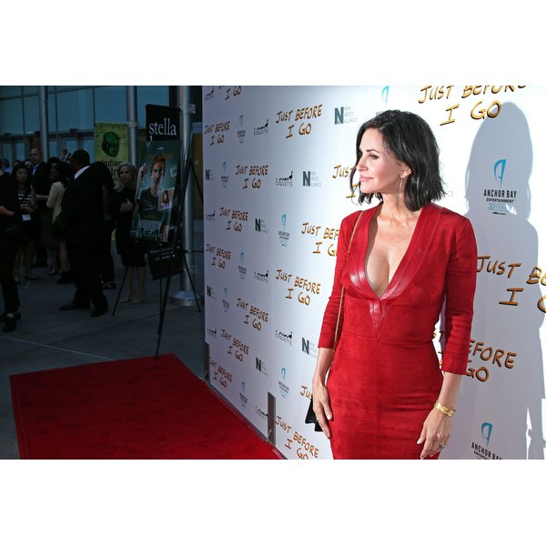 Courteney Cox talks about aging in Hollywood and why she's going to do so naturally from now on.