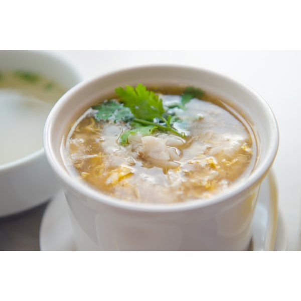 She crab soup is made from the meat of the blue crab.