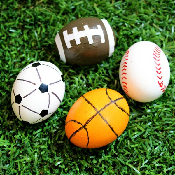 Jonathan Fong & Egg Decorating Ideas: Sports-Themed | Our Everyday Life
