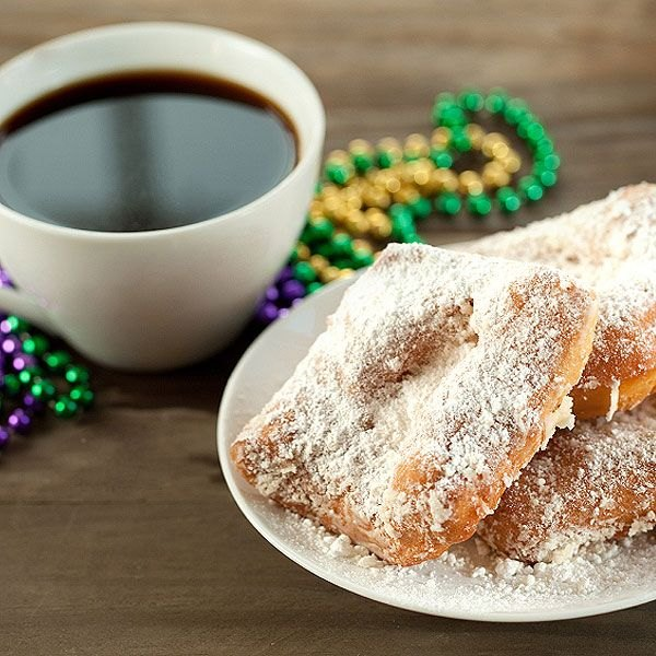 Mardi Gras is not complete without a beignet.