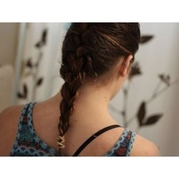 How to French-Braid Your Own Hair
