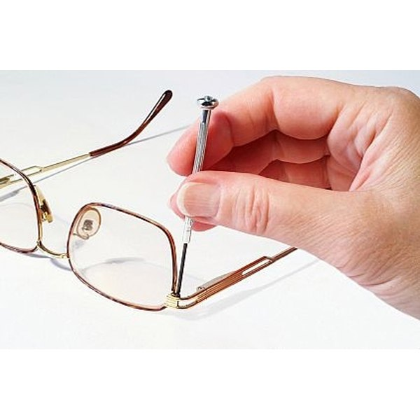How to Repair a Broken Eyeglass Frame | Our Everyday Life