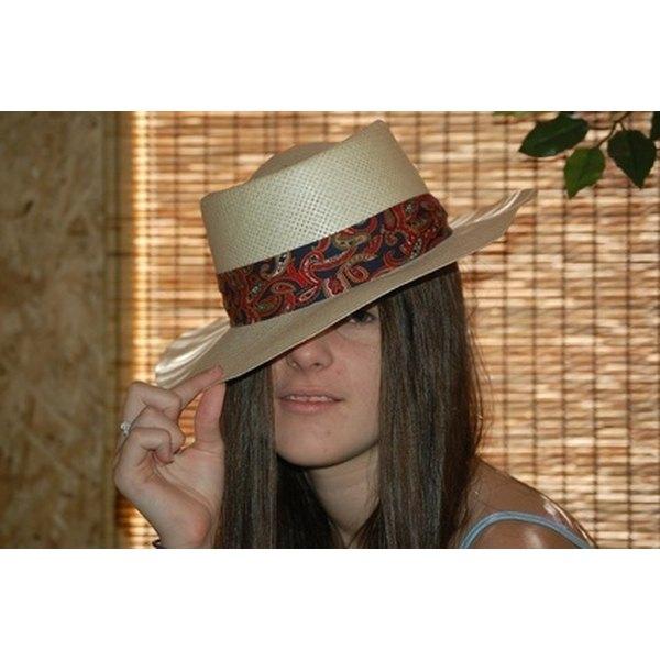 Clean a Straw Hat