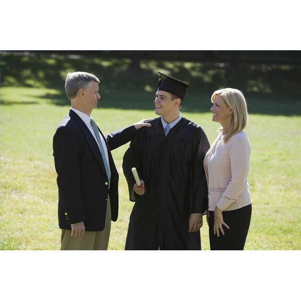 Dress When Attending a College Graduation Ceremony (Male)