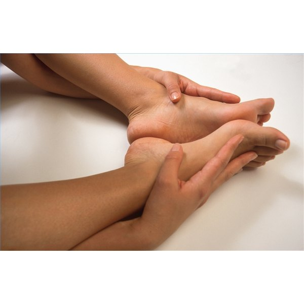 Massage the Achilles Tendon