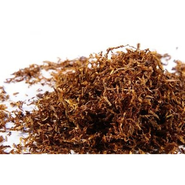 Moisturize Dried Tobacco