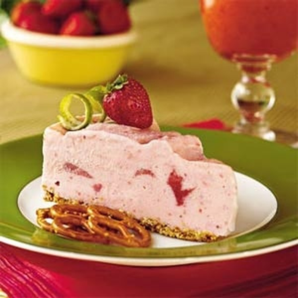 This cool, refreshing dessert is a perfect summer treat.