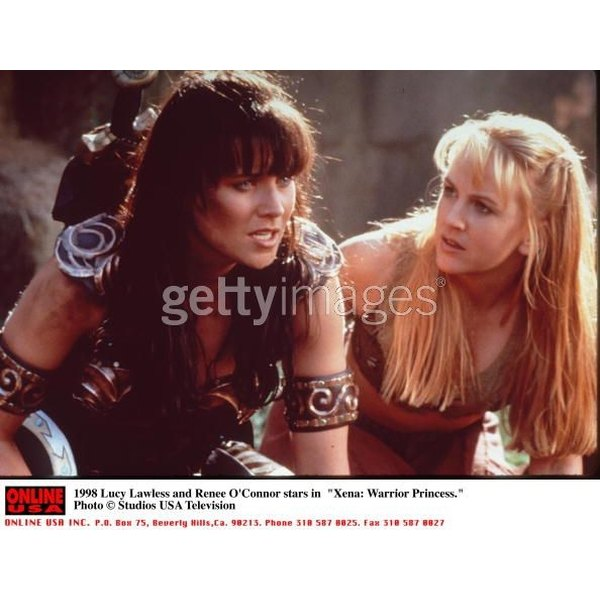 Xena the Warrior Princess and her sidekick Gabrielle rocked layered bangs