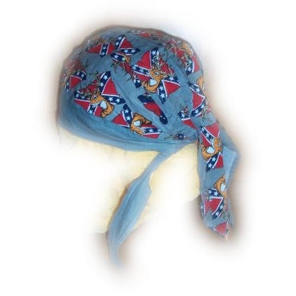 The bandana skull cap