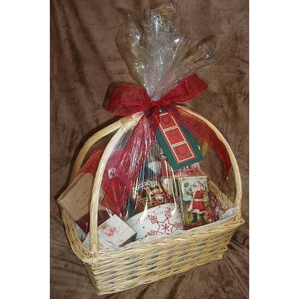 Put Together Creative Gift Baskets