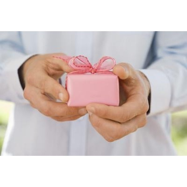 Thoughtful gifts do not have to be expensive, even for life's most significant occasions.