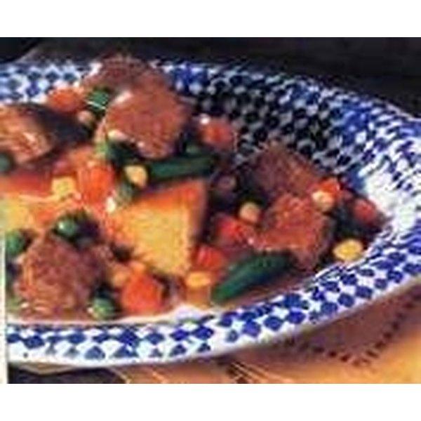 Beef Stew & Cornbread