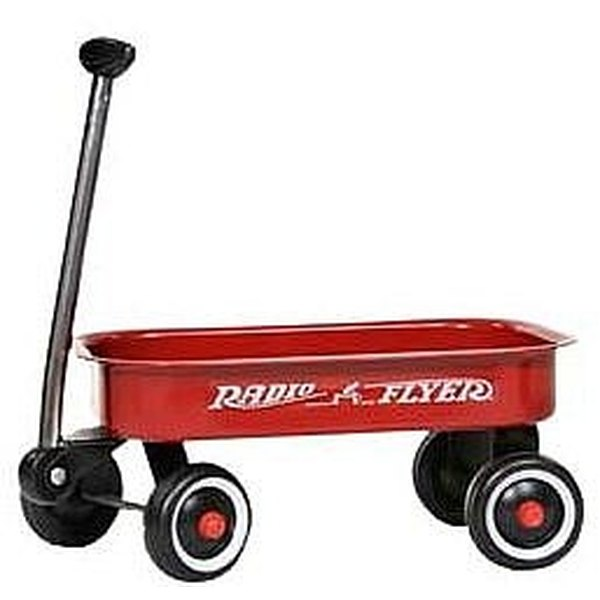 Learn how to decorate a red wagon for a wedding that's elegant , easy, and inexpensive