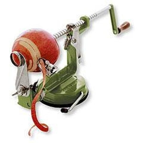 Use a Back to Basics Apple Peeler