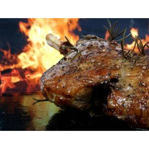 Roast Pork on a Weber Grill