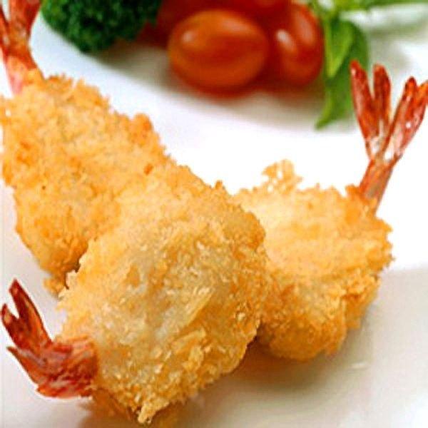 Breaded shrimps