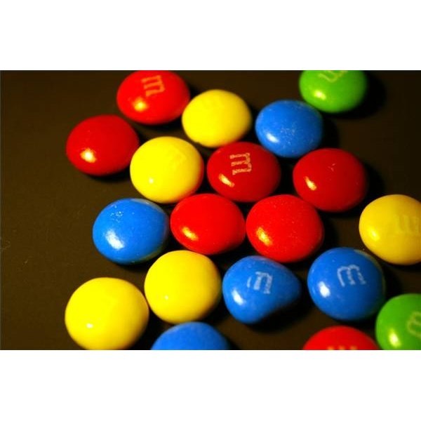 M&M candies are produced by Mars, Inc.
